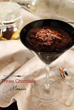 Chef Malhadinho: Three Chocolate Mousse