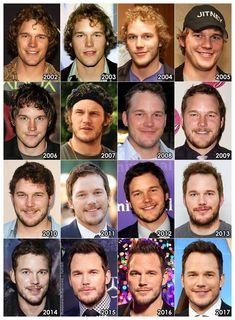 Chris Pratt over the years :)
