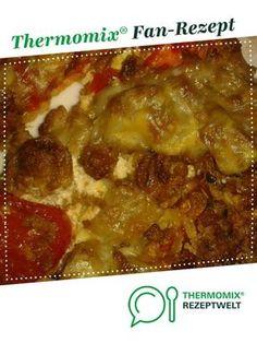 Hackfleisch-Schmand-Pizza von Julemand. Ein Thermomix ® Rezept aus der Kategorie sonstige Hauptgerichte auf www.rezeptwelt.de, der Thermomix ® Community.