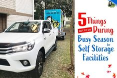 Here are the 5 things you need to avoid doing when it is a busy season for self storage facilities. With this, you will know when and when not to do the tasks that you are planning to do when this season comes. Storage Facilities, Self Storage, 5 Things, Sydney, Seasons, How To Plan, Business, Seasons Of The Year, Business Illustration