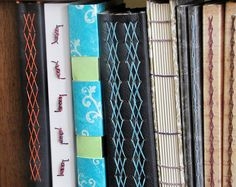 Assortment of handmade books
