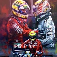 """I can't wait for the weekend to watch the Brazilian GP. Land of my hero Ayrton Senna, and the land where my brother Lewis has never won, YET... I'm currently watching videos of Ayrton on YouTube and a question by Mr Ecclestone made to me last week came to my Heart, he asked me """"Why do you Love Ayrton so much?"""", not contradicting me, but interested in my answer, and I told him that all of my country Loved Ayrton and that when he won, we all felt like we all won. I personally Loved how he…"""