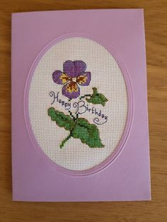 Happy birthday card by Danawelt on Etsy