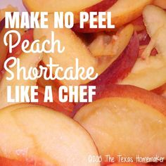 How to make no peel peach shortcake July 9, 2015 By mimi Leave a Comment (Edit)