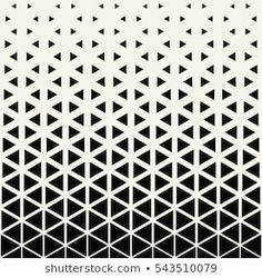 Abstract geometric black and white deco art print halftone triangle pattern – Tattoo Pattern Monochrome Pattern, Geometric Pattern Design, Triangle Pattern, Geometric Designs, Geometric Shapes, Ice Cream Tattoo, Store Signage, Front Elevation Designs, House Design Pictures
