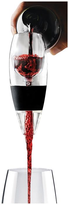 Red Wine Aerator, Clear - #fathersday