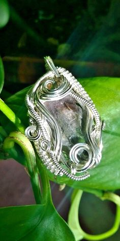 7 Super Seven Crystal wirewrapped Pendant by MeslosWraps on Etsy
