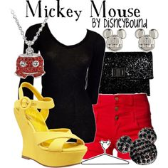 Mickey Mouse by Disneybound