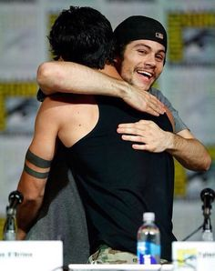 Dylan O'Brien and Tyler Posey | Teen Wolf Panel Comic Con 2015
