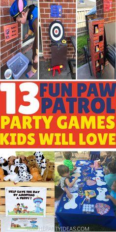 13 FUN Paw Patrol Party Games [Easy Setup]