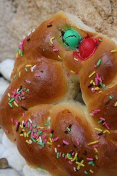Daddy Cool!: Εύκολα και αφράτα τσουρεκάκια χωρίς ζυμωμα Polymer Clay Creations, Yams, Easter Crafts, Doughnut, Sweet Tooth, Recipies, Bread, Desserts, Blog