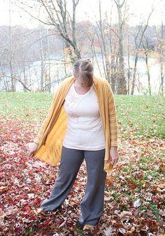 Drapey knit cardigan tutorial