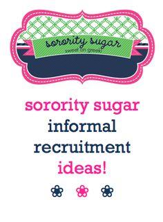 recruit, sigma, greek, sorority crafts, delta, alpha, blog, phi, sugar