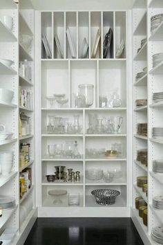 Senkrechte Unterteilung für Platten, Backbleche etc. Eventuell über Kühlschrank?