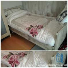 Bed Margreet - steigerhout - made by JohnnyBlue.nl Furniture, Home Decor, Decoration Home, Room Decor, Home Furnishings, Home Interior Design, Home Decoration, Interior Design, Arredamento