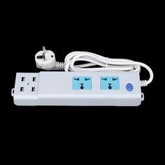 eu plug power strip