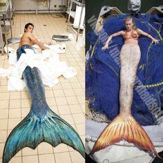 Zack and Ondina Mako Mermaids Tails, H2o Mermaid Tails, Mermaid Tails For Sale, Realistic Mermaid Tails, H2o Mermaids, Mermaid Pool, Silicone Mermaid Tails, Fin Fun Mermaid, Mermaid Tale