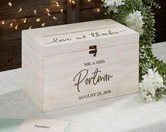 Shabby Chic Wedding Rustic Wooden Card Box Rustic Wedding   Etsy Wedding Advice Box, Money Box Wedding, Wedding Favor Boxes, Wedding Cards, Favour Boxes, Wedding Ideas, Rustic Card Box Wedding, Chic Wedding, Decor Wedding