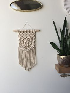 Macrame Wall Hanging Patterns, Macrame Patterns, Macrame Design, Macrame Projects, Plant Hanger, Hanging Plant, Creations, Crochet, Decoration