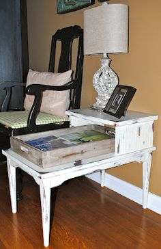 Before & After using Annie Sloan Chalk Paint