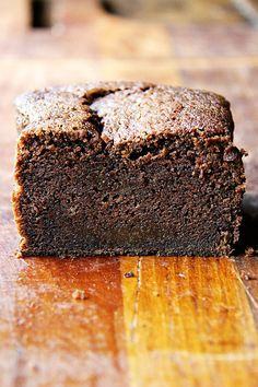 Dense Chocolate Loaf Cake with Booze and Coffee