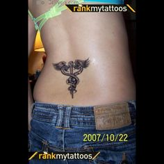 Lower Back Tattoo Cute Tattoos For Women, Trendy Tattoos, Tribal Tattoos, Tatoos, Girl Back Tattoos, Back Tattoo Women, Lower Back Tattoo Designs, Lower Back Tattoos, Abdomen Tattoo