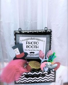#Birthday themed props make an excellent surprise for the guest of honor! #rentmyphotobooth Photo via #JasminPerris