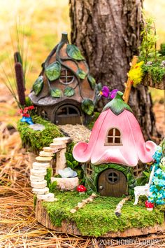 Bring your fairy garden to life with trendy updates and ready-made pieces!