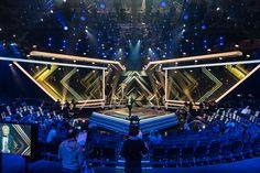Goldene Kamera - Hamburg Messe und Congress Bühnen Design, Tv Set Design, Stage Set Design, Screen Design, Concert Stage Design, Stage Lighting Design, Exhibition Booth Design, Stage Decorations, Scenic Design