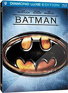 Batman UK Exclusive Diamond Luxe Limited Edition Blu-ray Steelbook Region Free Only 2000 made 2 Disk: Amazon.co.uk: Michael Keaton, Jack Nicholson, Jack Palance, Jerry Hall Billy Dee Williams, Tim Burton: DVD & Blu-ray