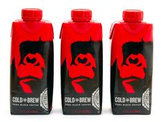 Gorilla Coffee brings portability to cold brew. #packaging #design