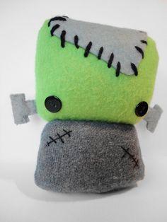 Plush Frankenstein Monster.