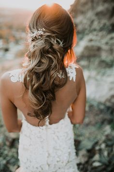 Hair and makeup by Steph.   Dress from Alta Moda.   Photos by Kelsie Emm.   Flower by Bachman Floral.                                      ...