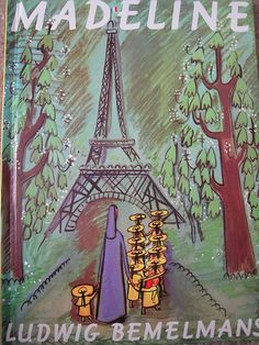 Madeline : Story & Pictures by Ludwig Bemelmans Madeline Book, Ludwig Bemelmans, Books To Read, My Books, Classic Literature, Children's Literature, Love Reading, Paris, Great Books