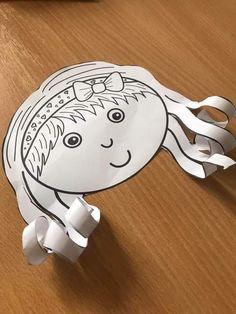 Art For Kids, Crafts For Kids, Arts And Crafts, Paper Crafts, Scissor Skills, Body Image, Fine Motor Skills, 3 D, Decoupage