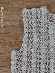 Jaqueta de Crochê Estilo Channel com Gráfico - Amo Fazer Crochê