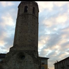 Torre de antigua iglesia de Sta Teresa en Puigcerda