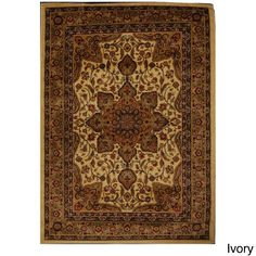 Majestic Tabriz Oriental Motif Area Rug (7'8 x 10'4) | Overstock.com Shopping - The Best Deals on 7x9 - 10x14 Rugs