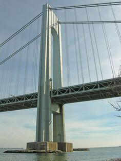 The Brooklyn Bridge is one of my top three favorite places in NY, but I'm a bit fascinated by the Verrazano Narrows