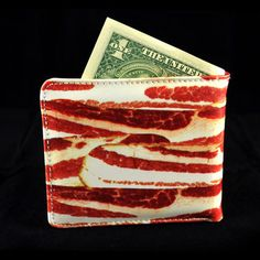 Bacon Wallet, $19.25, now featured on Fab.