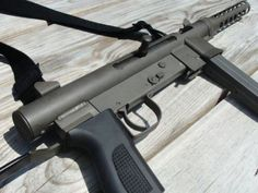 Have you ever seen one of these? Now if you do, you'll know what it is! Take a step back in history and discover the MKA Weapons Guns, Guns And Ammo, Bullpup Shotgun, Assault Weapon, Submachine Gun, Shooting Guns, Fire Powers, Home Defense, Survival Gear