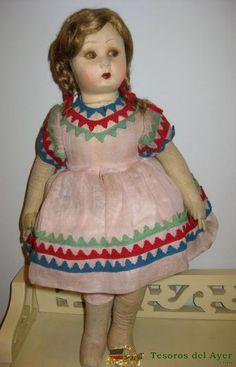 antigua muñeca Española