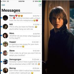 Jonathan's phone#strangerthings #strangerthingsmemes #lol #funny #love #netflix #milliebobbybrown #amazing #finnwolfhard #instagood #calebmclaughlin #gatenmatarazzo