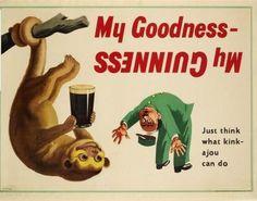 35 deliziosi e divertenti poster vintage della Guinness - Collezione di manifesti della mitica birra - Mooseek.com