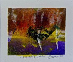 Sequence Luft, 2015, tecnica mista, 11.5 x 10 cm