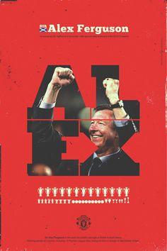 Sir Alex Ferguson by Giuseppe Vecchio Barbieri, via Behance Manchester United Images, Manchester United Wallpaper, Manchester United Football, Soccer Art, Sir Alex Ferguson, Premier League Champions, Best Football Team, Football Design, United We Stand