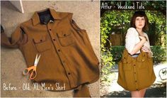 shirt restyle - Google Search