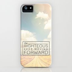 Job 17:9 Moving Forward iPhone & iPod Case by Pocket Fuel - $35.00