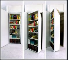 Inzetkast voor de trapkast. Veel extra ruimte. Dit is wat ik wil!!