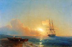 Рыбаки на берегу моря  [1852]
